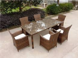 Wicker Patio Furniture Set - synthetic wicker patio furniture