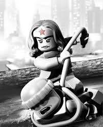 if lego batman 2 happened in arkham city it would look like this