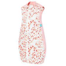 ergopouch 0 3 tog summer organic cotton baby sleeping bag pink