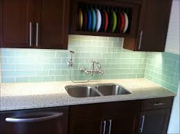 kitchen blue and white tile backsplash brick kitchen backsplash