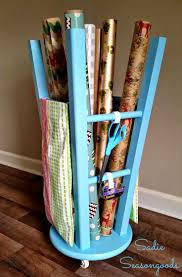 Gift Wrap Storage Containers The 25 Best Wrapping Paper Storage Container Ideas On Pinterest