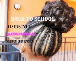 hair styles for back of back to school hairstyle for kids girls simple and cute 1