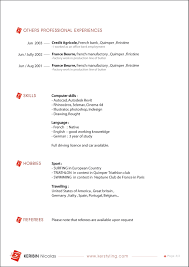Professional Cv Cover Letter by Free Designer Resume Template Free Interior Design Resume