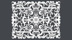 ornamental wrought iron pattern 02 3d warehouse