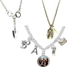 woman necklace holder images Pretty little liars inspired got a secret can you keep it a charm jpg