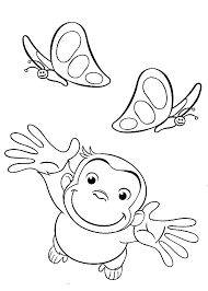 100 curious george coloring pages printable coloring pages