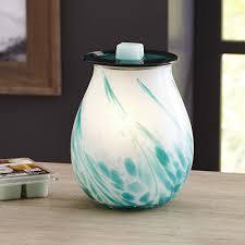better homes and gardens opal art glass wax warmer walmart com