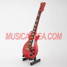 miniature guitar mini guitar model tree ornament and