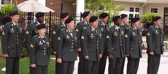 the end of the green service uniform 1954 2015