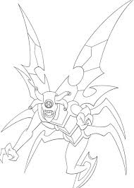 ben 10 transform beings spooky coloring pages color
