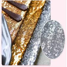 silver sequin table runner 30 275cm fabric table runner gold silver sequin table cloth sparkly