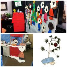 most effective office decorating ideas christmas cubicle