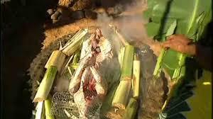 video hawaiian luau pig roast martha stewart