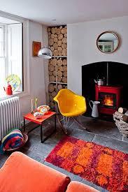 retro livingroom retro living room interior design inspiration photo popsugar home