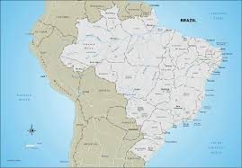 map of brazil brazil road map brazil railway map brazil highway map