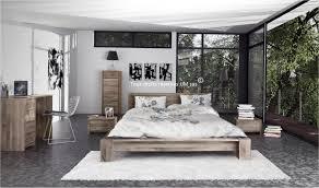 chambre 180x200 lit 180x200 en bois massif bas chambre à coucher haut de