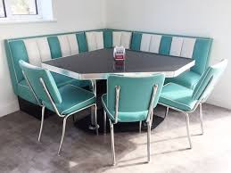 retro furniture diner booth hollywood t corner set 180 x 180