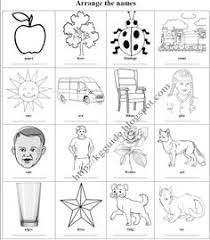 outline drawing line drawing painting kindergarten
