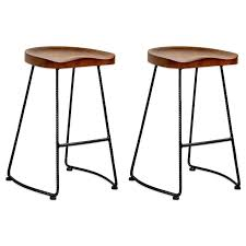 wood and metal industrial counter stools powell 24 wood and metal