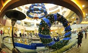 Christmas Decorations For Shops Displays by Deck The Malls Global Times