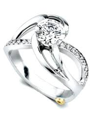contemporary wedding rings contemporary wedding ring blushingblonde