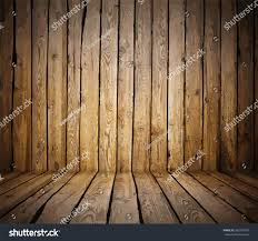 painted old wooden wall brown room stock vector 285397907