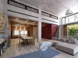 Wohnzimmer Rustikal Innenarchitektur Geräumiges Wohnzimmer Modern Rustikal
