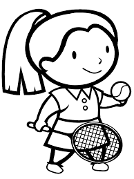 coloring pages for girls sports sport coloring pages of