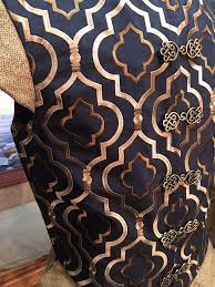 Black And Gold Upholstery Fabric The Kensington Doublet Faire Finery
