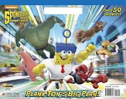 spongebob squarepants movie tie big coloring book golden