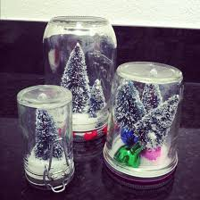 christmas glass jar snow globe craft preschool crafts for kids