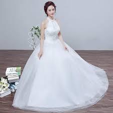 korean wedding dress in the of 2016 new korean wedding qi halter slim slim lace