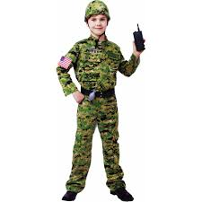 halloween costumes spirit store generic army infantry child halloween costume walmart com