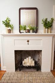 decorative fireplace ideas 10 ways to decorate your fireplace in the summer since you won t