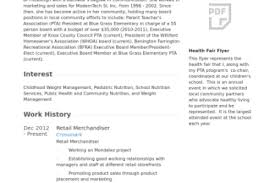 Sample Retail Resume Buyer Merchandiser Resume