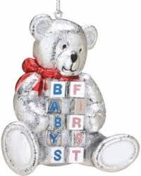 spectacular deal on reed barton ornaments baby s 1st
