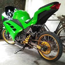 motor ninja 250 modifikasi velg jari-jari racing