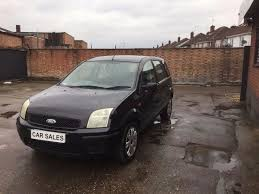 ford fusion 1 6 5dr 2003 black in leicester leicestershire