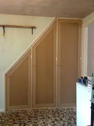 under stairs storage plans under deck stairs storage plans