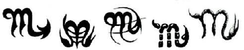 scorpio tattoo art
