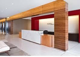 Modern Front Desk Seyfarth Shaw Llp Modern Office Interior Design With