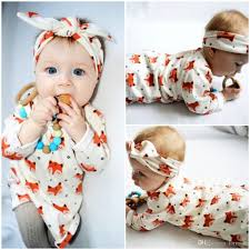 newborn baby pajamas fox dress toddler