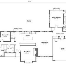 simple ranch house floor plans floor plan for one story house luxury plans ranch modern country
