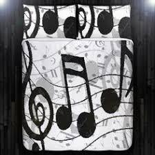 music themed queen comforter music note key piano bedding duvet cover queen comforter king twin