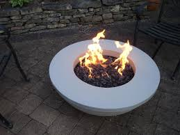 modern gas fire pit crafts home
