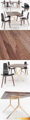 de la espada dining table desire fx de la espada overton dining table tapas chair 3d model