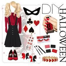 Harley Quinn Halloween Costume Diy Women U0027s Halloween Costumes Black Face Mask