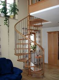 stairs in oak and spiral staircases in beech