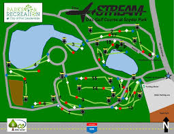Fort Lauderdale Map The Jet Stream Dgc In Ft Lauderdale Fl Disc Golf Course Review