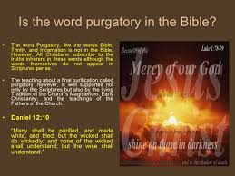 what is purgatory
